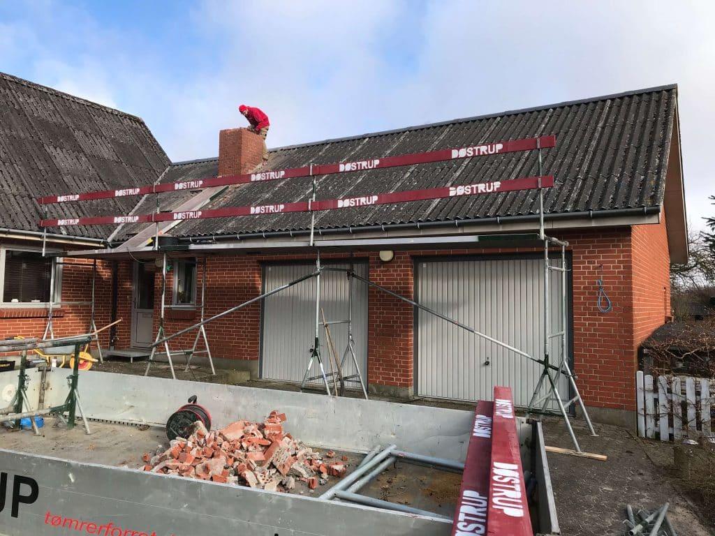 Tømrer nær Hobro til renovering