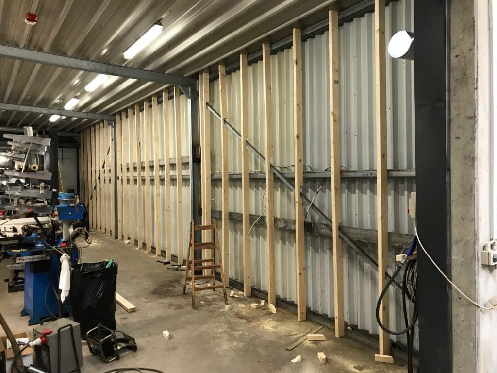 Bygningsvedligeholdelse i industri